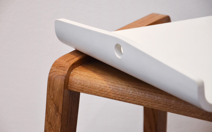 Krion, more than a solid surface: Nao table by Studio Katra
