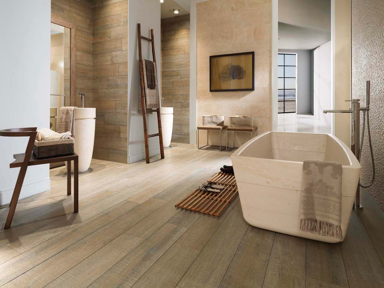 Par-ker®, porcelain hardwood by PORCELANOSA Group