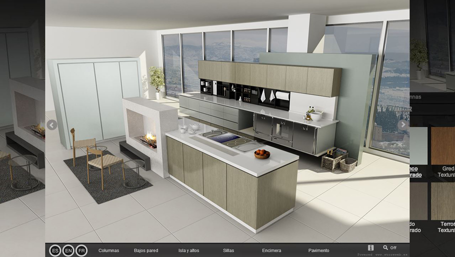 Configure your tailor-made kitchen with Gamadecor