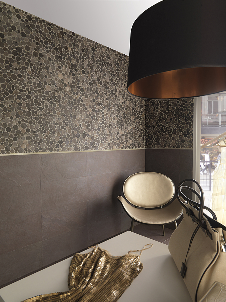 Decorative protection for mosaics with new profiles by Butech