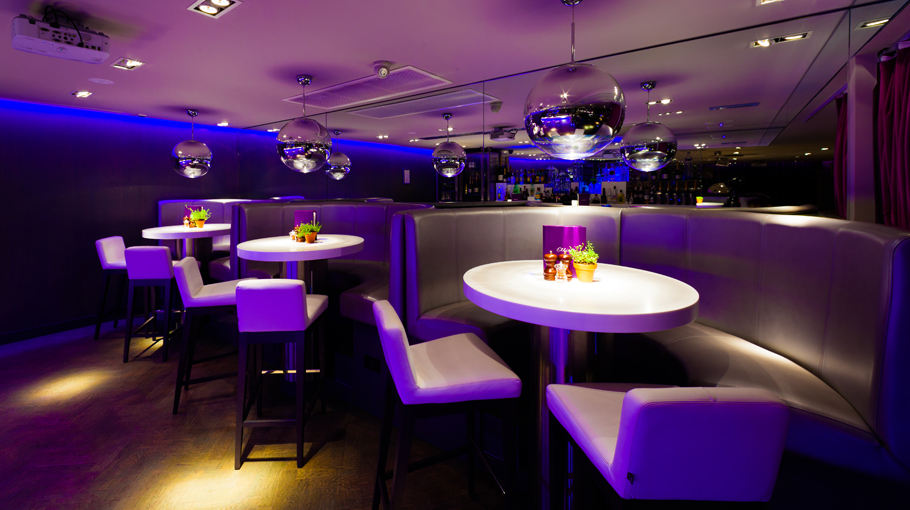 PORCELANOSA Group projects: Elliots restaurant in Prestwick (Ayrshire), Scotland