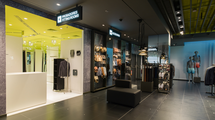 PORCELANOSA Group projects: Bershka store in Valencia (Spain)