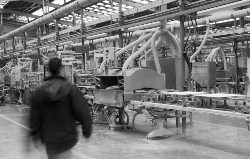 Meticulous production processes for superb through-body porcelain by Urbatek