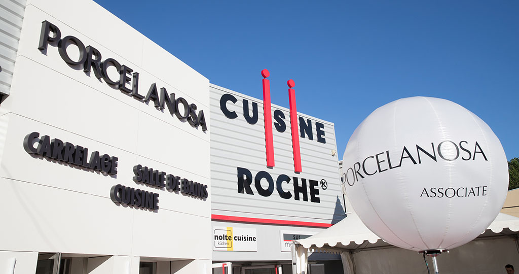 Porcelanosa opens a new showroom in Valence