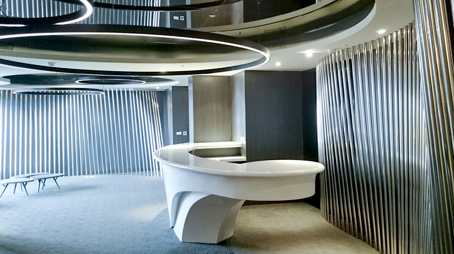 Projects PORCELANOSA Grupo: Krion® en Bao Hong Residential