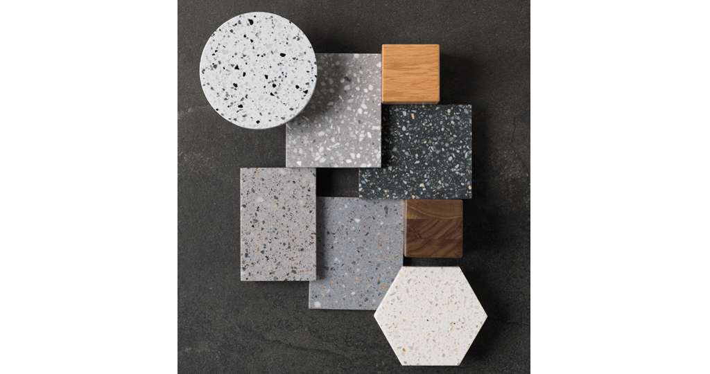 K Terrazzo Mineral Tribute To The Usual Materials With