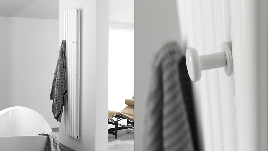 100% comfortable bathrooms with radiators and towel radiators by Noken
