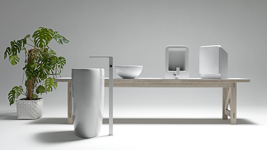 In the bathroom, Less is More: Lounge wall-hung sanitarywares by Noken