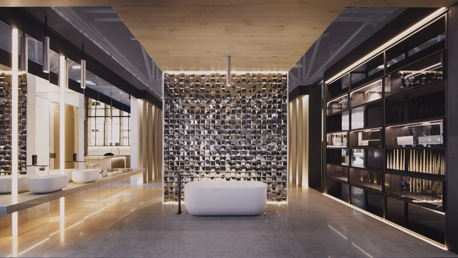 Cersaie 2015: creative fusion by PORCELANOSA Grupo and Ramón Esteve in the Premium Collection space
