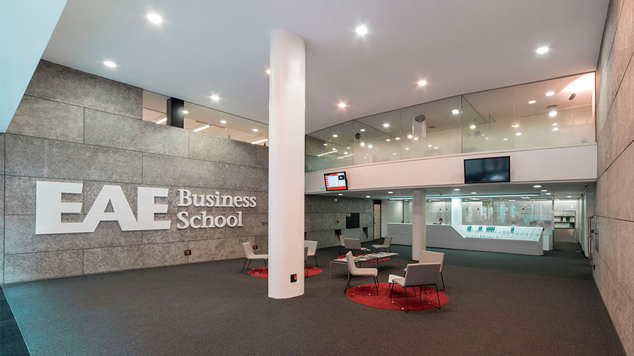 PORCELANOSA Grupo Projects: EAE Business School torna a scommettere su KRION® nel suo centro di Barcellona