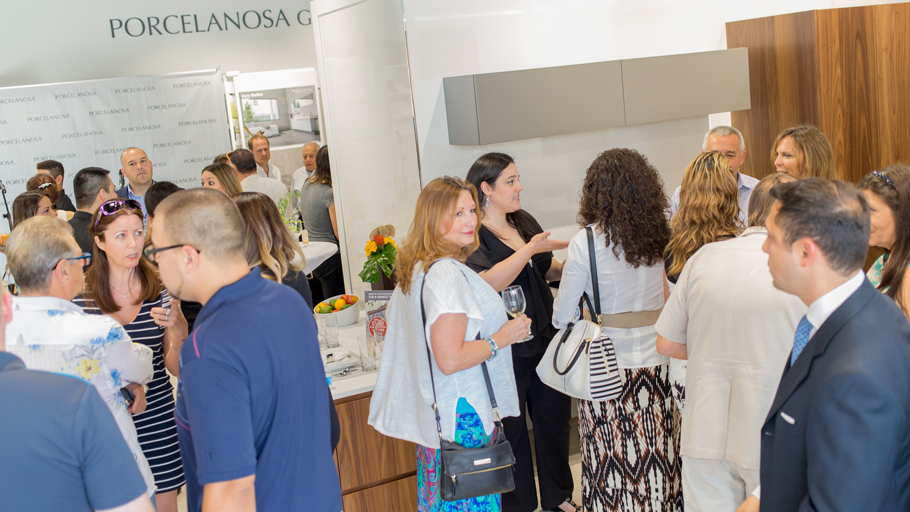 The new PORCELANOSA GROUP showroom in Houston, USA