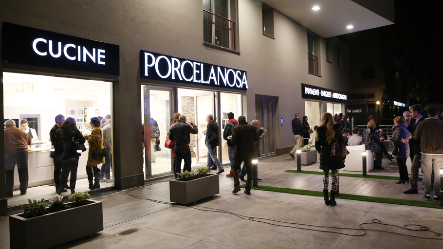 PORCELANOSA Group opens its first showroom in the Italian city of Bergamo