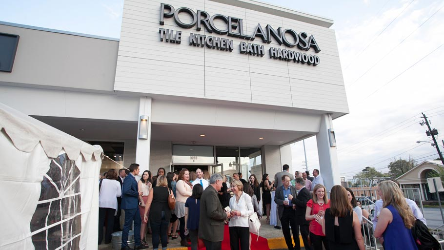 The new showroom from PORCELANOSA Grupo in Atlanta, Georgia
