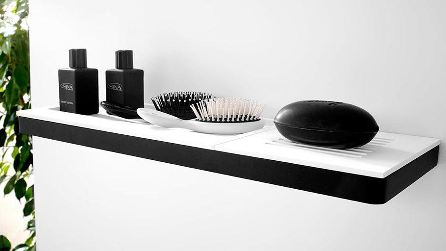 KRION® Bath: new accessories for reinventing the bathroom as a functional space