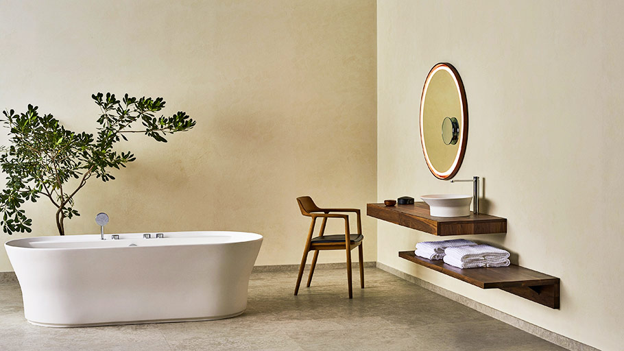 KRION® and Tono by Foster + Partners: highest quality and minimalism regarding bathroom design