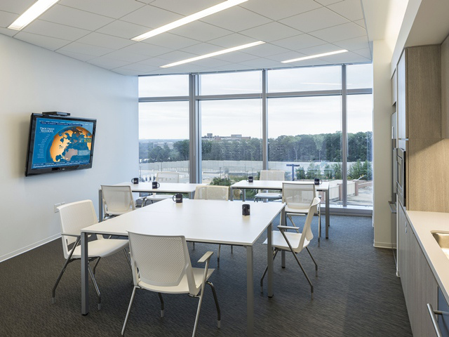 Projects PORCELANOSA Grupo: Bureaux Troutman Sanders, Virginia Beach (Etats-Unis)