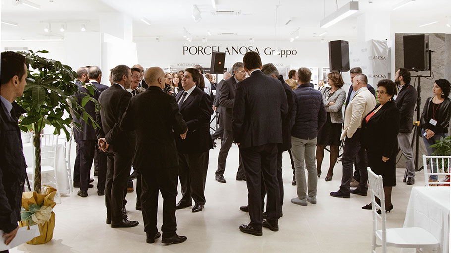 PORCELANOSA Grupo now has 8 showrooms in Italy with the latest one opening in Pescara