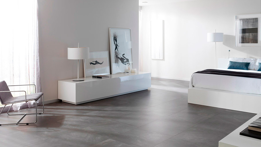 New industrial style through-body porcelain tile from Urbatek: urban elegance by Core
