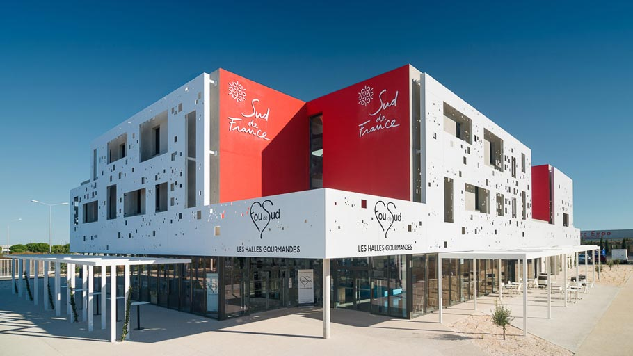 PORCELANOSA Grupo Projects: KRION® reinterprets architecture in the sud de France, Montpellier