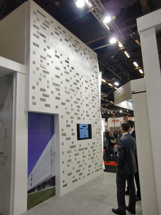 Great expectations at Batimat 2013 with construction solutions by PORCELANOSA Group