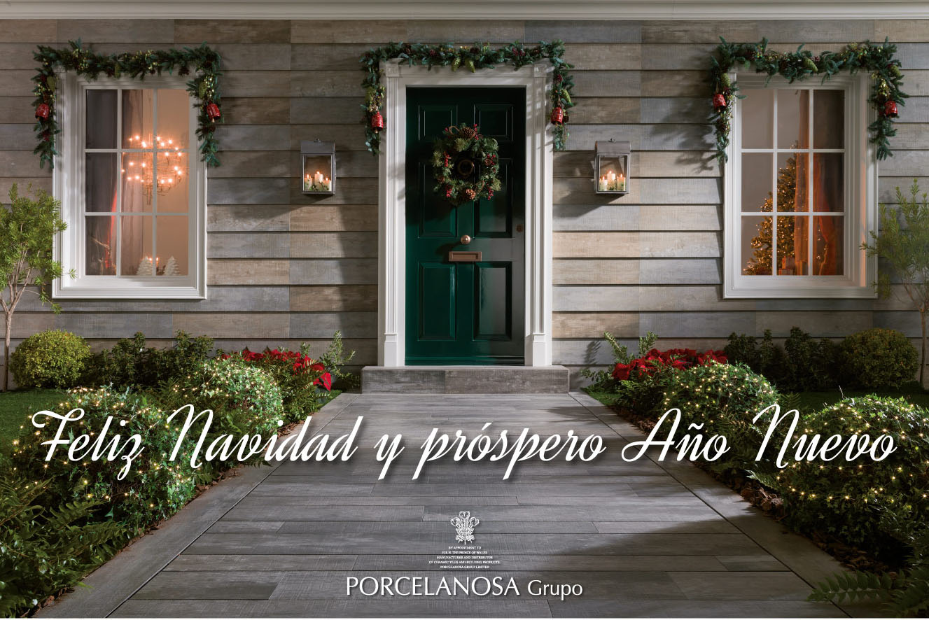 PORCELANOSA Group wishes you a Merry Christmas