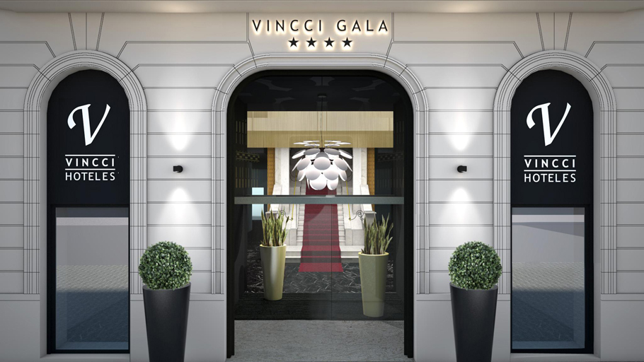 PORCELANOSA Grupo Projects: Cutting edge and modernism at the Vincci Gala Hotel, Barcelona