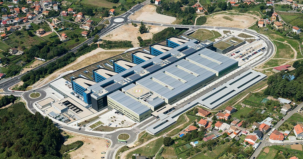 PORCELANOSA Grupo Projects: quality and excellence at the Álvaro Cunqueiro Hospital in Vigo