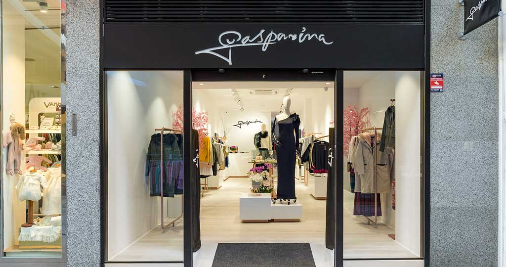 PORCELANOSA Grupo Projects: The Gasparina shop, elegance in pink tones