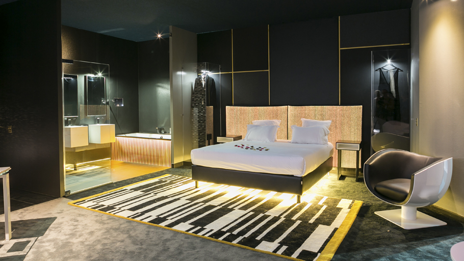 Olivier Lapidus chooses Porcelanosa Group to create his ideal hotel room