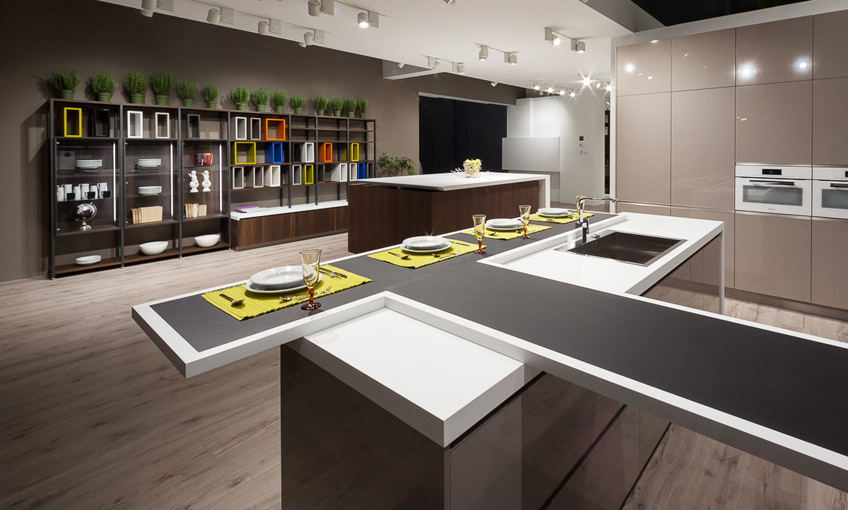 Gamadecor thrills at Eurocucina 2014