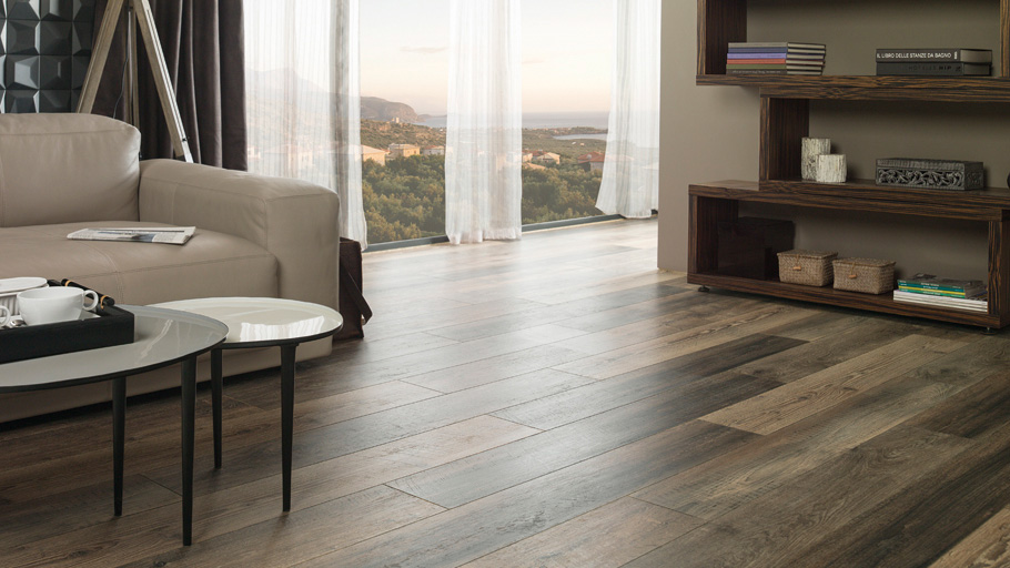 Authenticity and personality in laminated flooring