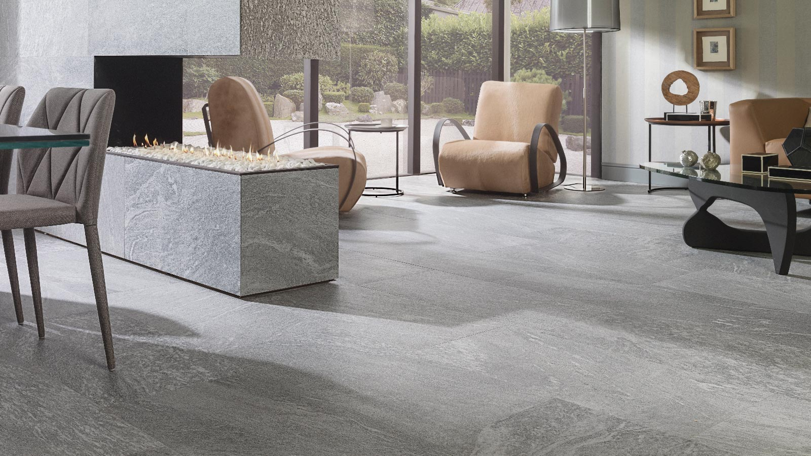 Natural Stone effect sets the trend in interior design