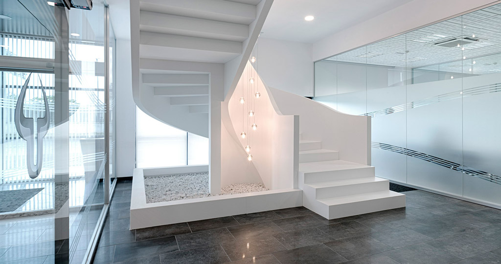 Staircases are in fashion: not just something that people just go up and down on