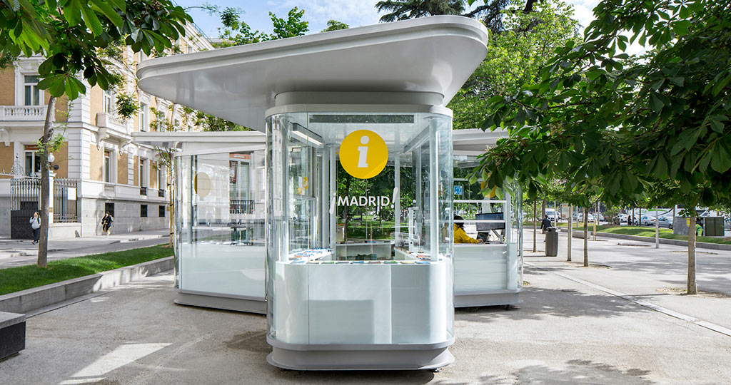 The 10th Porcelanosa Awards: innovation with KRION® at the tourist information kiosks, Completed Projects