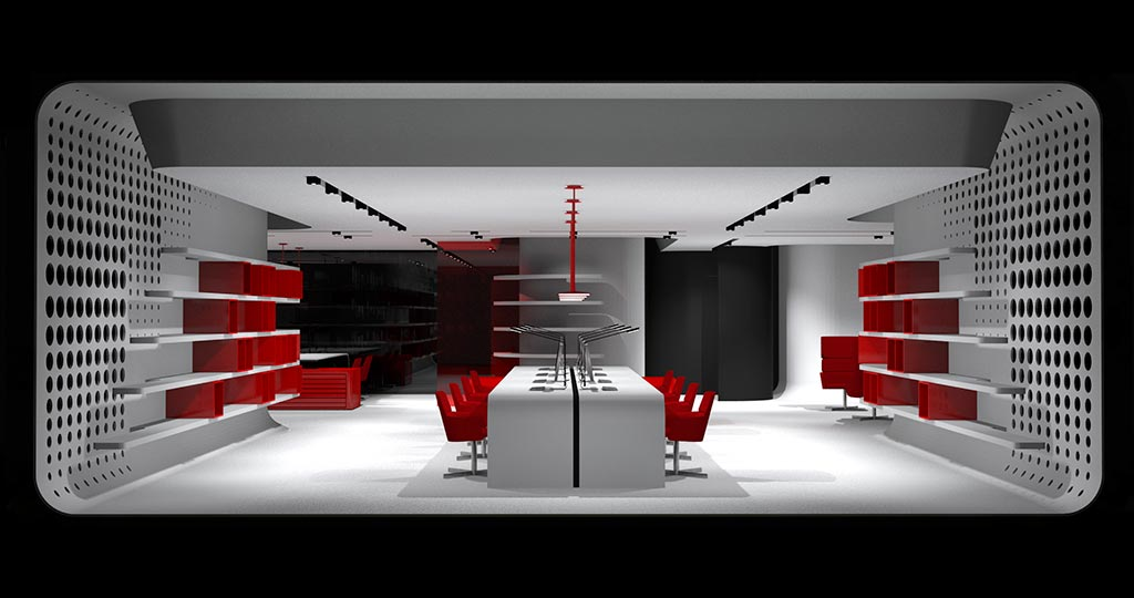 The 10th PORCELANOSA Grupo Awards Finalists: Red Cube, a biomorphic modular office in Forward-Looking Projects – Professionals