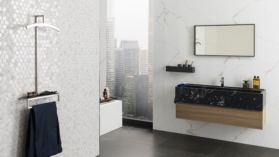 The 23rd Porcelanosa Exhibition latest news: distinction in the Premium wall tiles