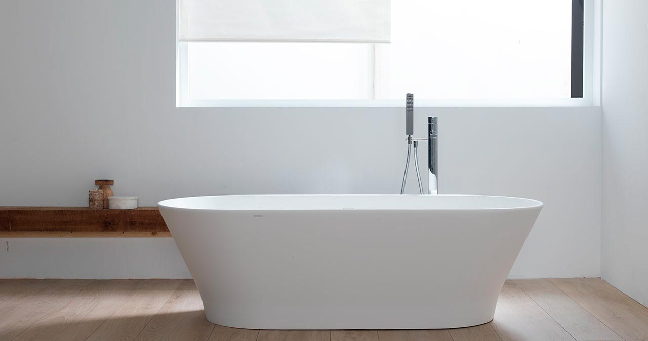 The 24th PORCELANOSA Grupo Exhibition News: new versions and innovations from      KRION® in bathroom equipment by Systempool