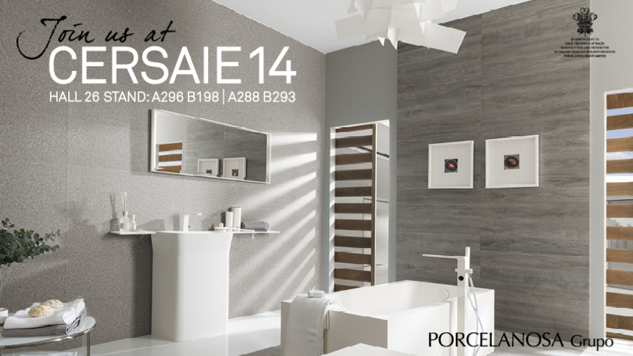 PORCELANOSA Group expands its display area for Cersaie 2014