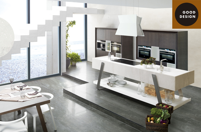 The Trotter kitchen by Gamadecor wins the Good Design Award
