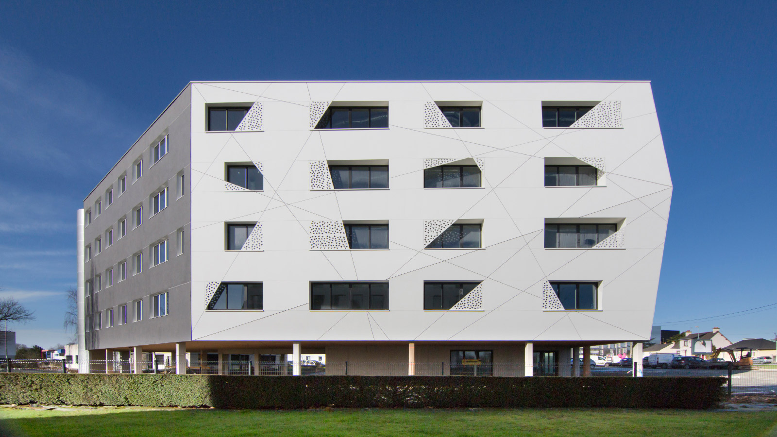 The KRION® facade systems by Butech get the CWCT certificate