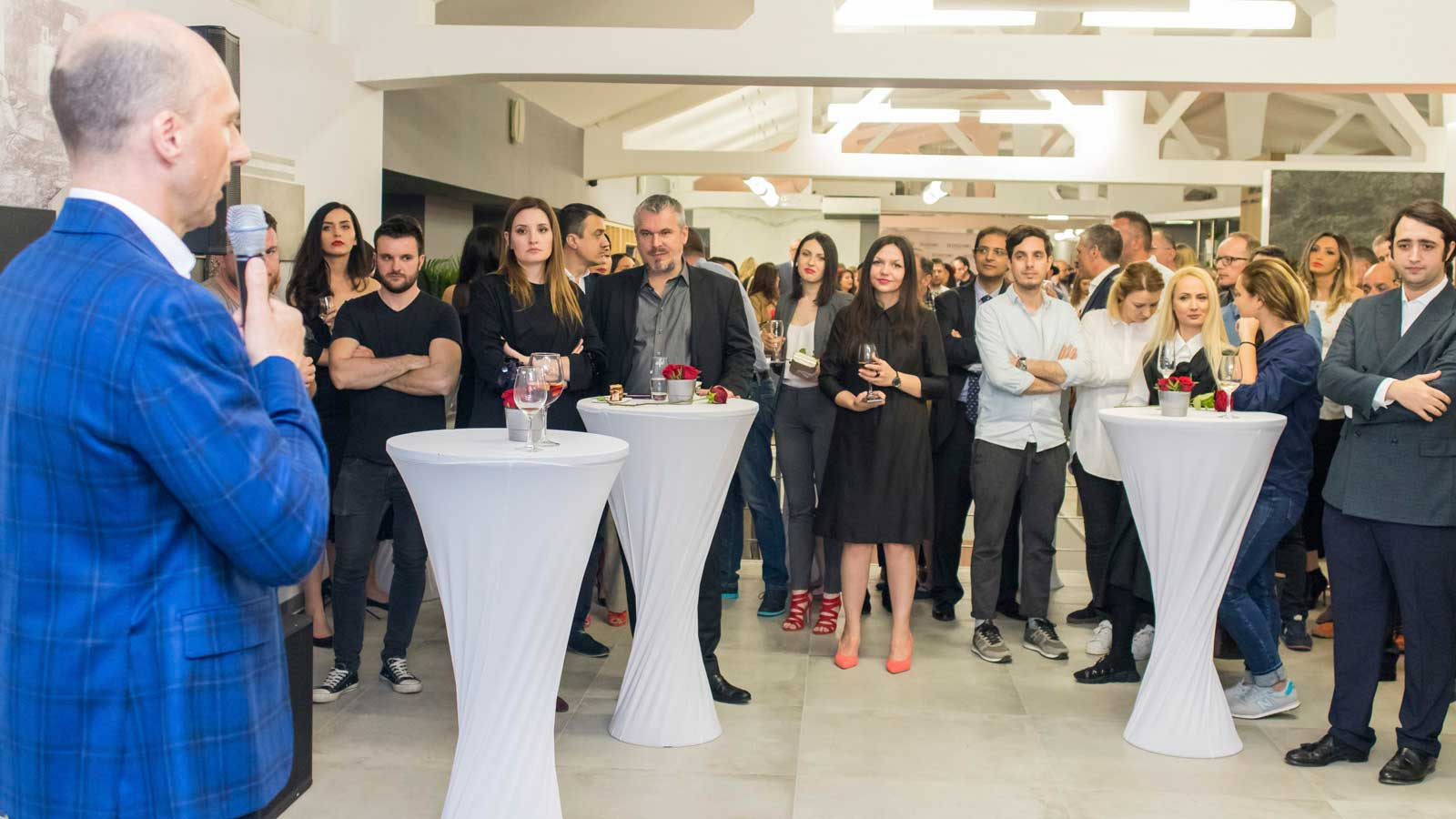 The Porcelanosa Grupo opens Delta Studio in Bucharest, Romania