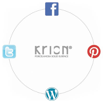 Discover the world of Krion® with its new social media