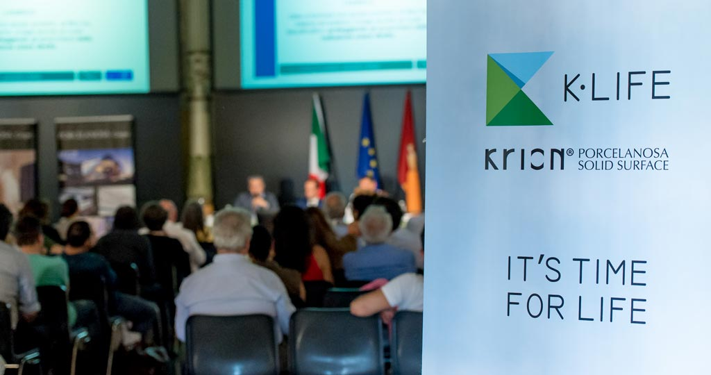 KRION® presents K-LIFE in Rome, the technology that will improve the quality of life