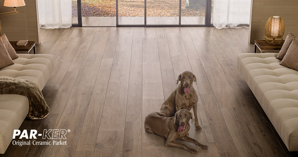 PAR-KER ceramic parquet: classic material with the technology of the future
