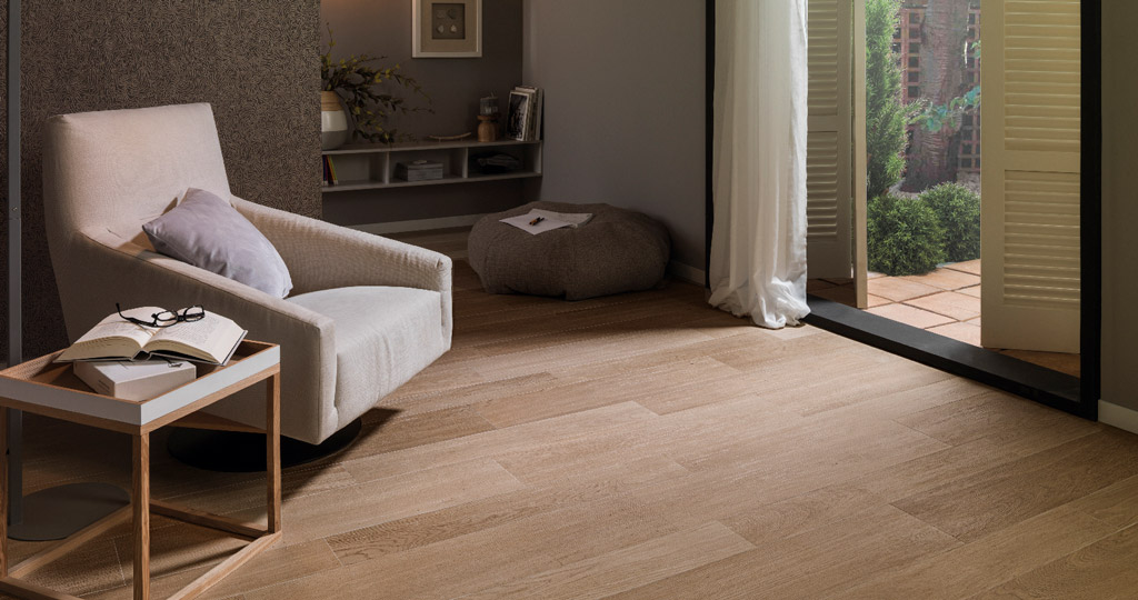 The latest innovations at the 25th PORCELANOSA Grupo International Exhibition: Porcelanosa presents FOREST, the most sustainable ceramic parquet
