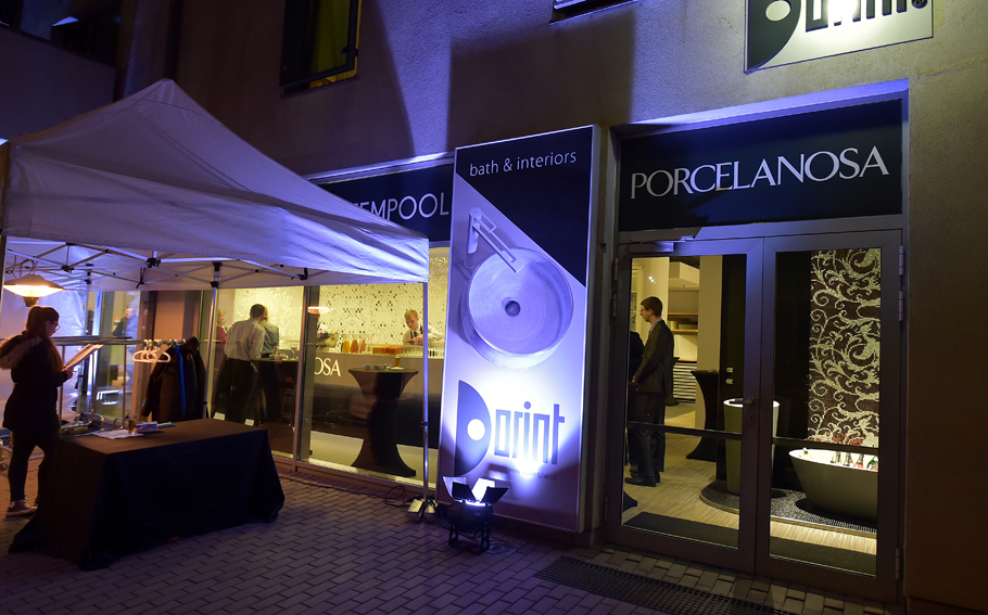 The new PORCELANOSA Grupo showroom in Prague, introduced by Dorint