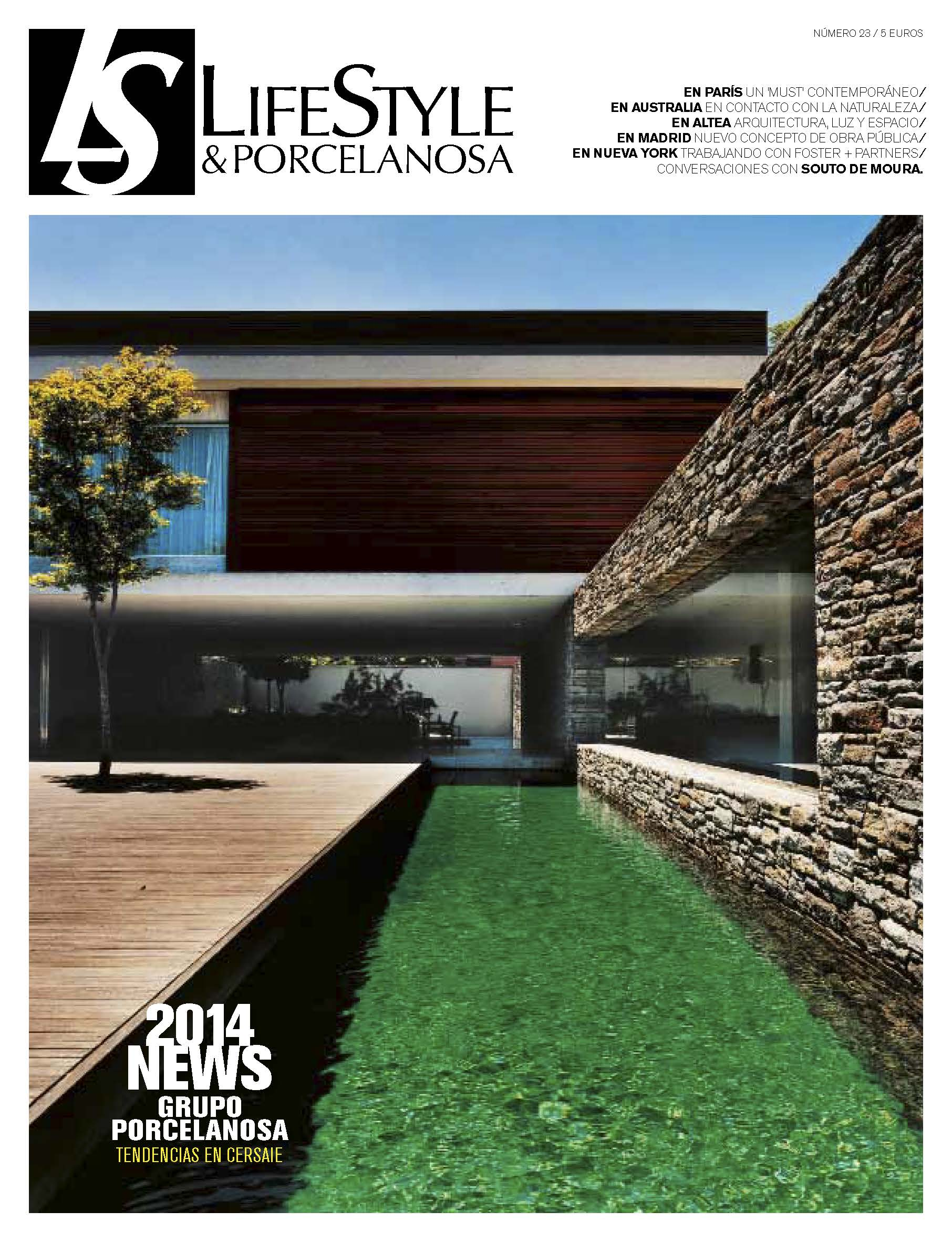 The new issue of the LifeStyle & PORCELANOSA magazine is now available