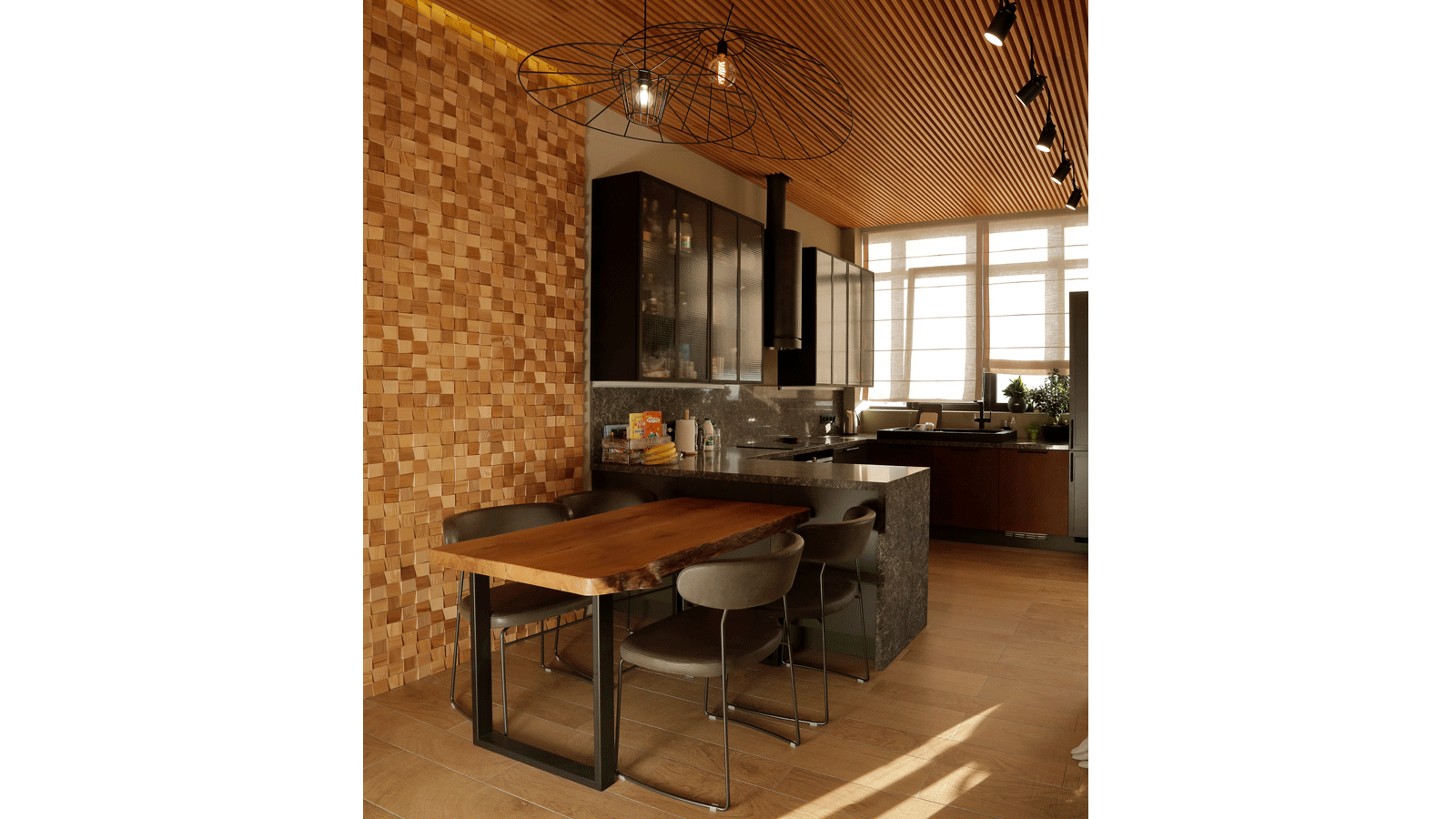 PORCELANOSA Grupo Projects: Views of Odessa through wood and concrete