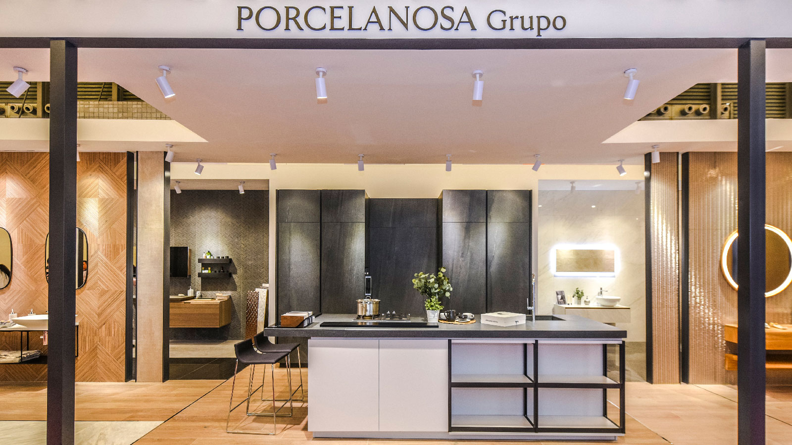 PORCELANOSA Grupo at Kitchen & Bath China 2018: the latest innovations in bathrooms and kitchens