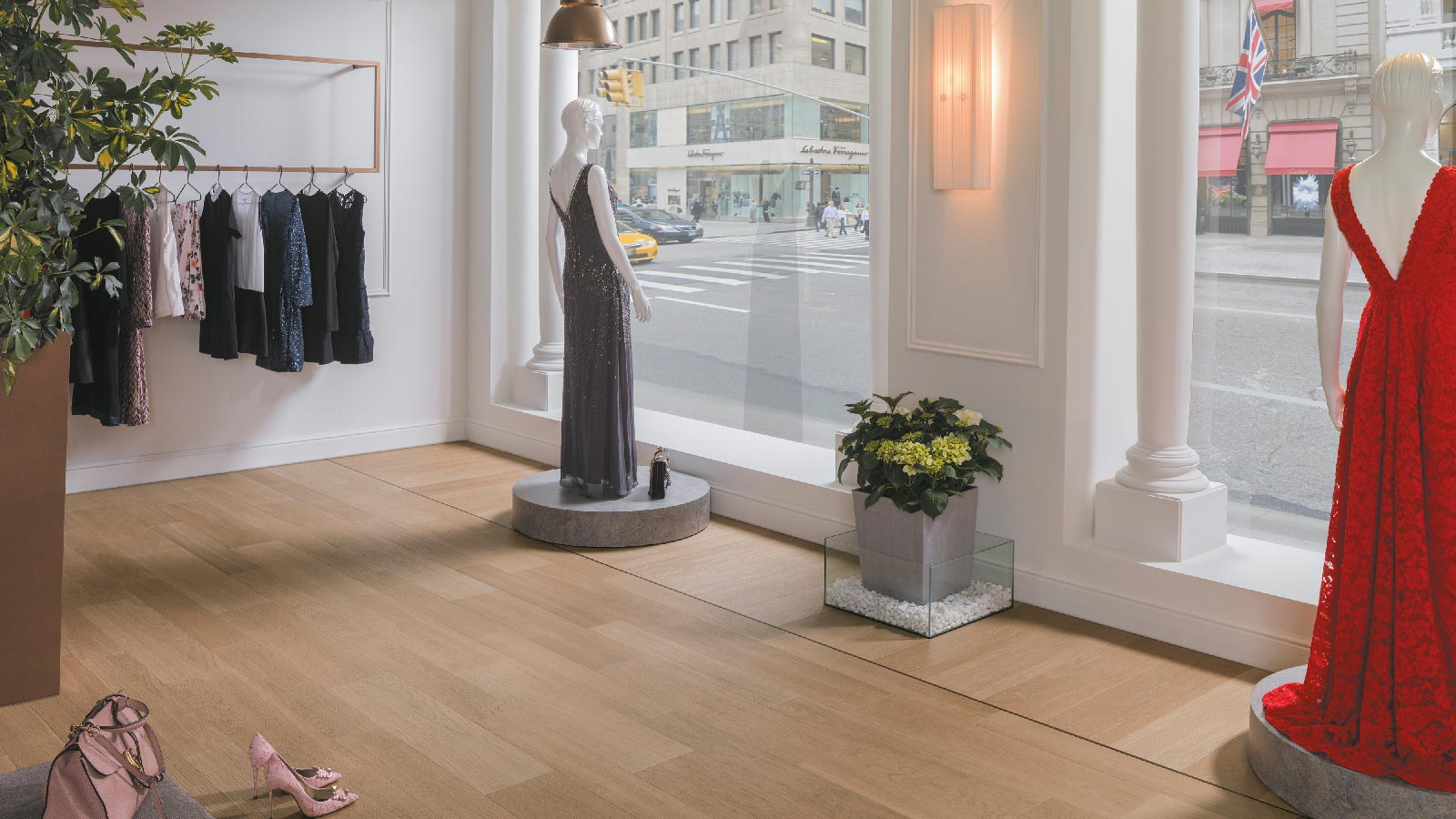The Porcelanosa Grupo banks on a sustainable design for the retail sector